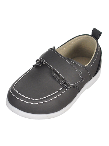 Stepping Stones Baby Boys' Boat Shoes (Sizes 4 – 6) - CookiesKids.com