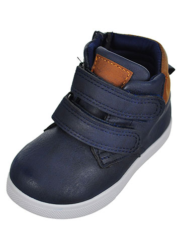 Stepping Stones Baby Boys' Hi-Top Sneaker Booties - CookiesKids.com