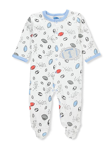 Bon Bebe Baby Boys' Footed Coverall - CookiesKids.com