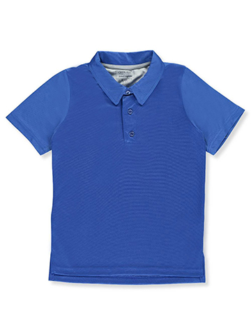 Cherokee Big Boys' Performance Mesh Polo (Sizes 8 – 20) - CookiesKids.com