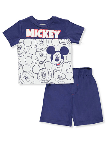 Disney Mickey and the Roadster Racers Baby Boys' 2-Piece Short Set Outfit - CookiesKids.com