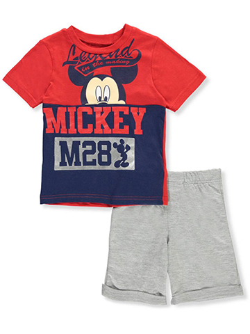Mickey and the Roadster Racers 2-Piece Short Set Outfit - CookiesKids.com