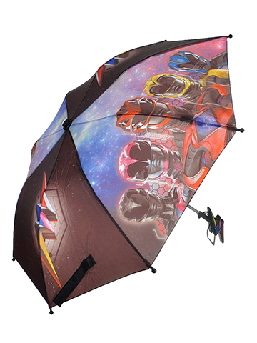 "Power Rangers ""Assembled"" Extendable Umbrella - CookiesKids.com"