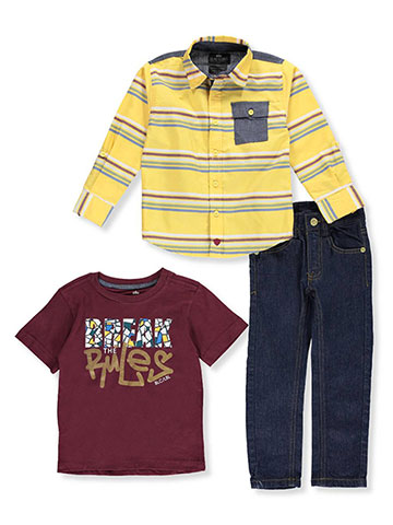 Blac Label Little Boys' Toddler 3-Piece Outfit (Sizes 2T – 4T) - CookiesKids.com