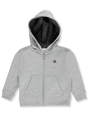 "Champion Little Boys' Toddler ""Fleece & Jersey"" Hoodie (Sizes 2T – 4T) - CookiesKids.com"