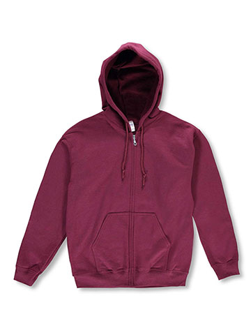 Gildan Basic Fleece Zip-Up Hoodie (Adult Sizes S – 3XL) - CookiesKids.com