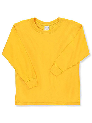 Gildan Unisex Basic L/S T-shirt (Youth Sizes XS – XL) - CookiesKids.com