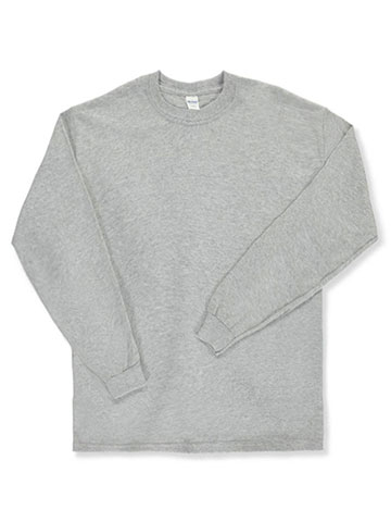 Gildan Unisex Basic L/S T-Shirt (Adult Sizes S – XL) - CookiesKids.com