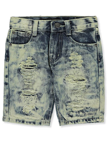 GS-115 Boys' Denim Shorts - CookiesKids.com