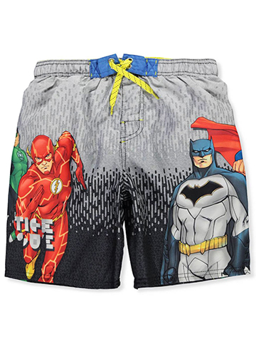 Justice League Boys' Boardshorts - CookiesKids.com