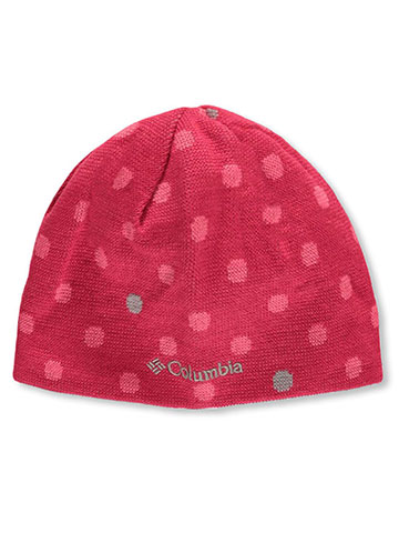 "Columbia Girls' ""Urban Polka Dot"" Reversible Beanie - CookiesKids.com"