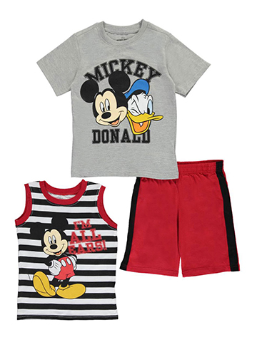 "Mickey Mouse Little Boys' Toddler ""I'm All Ears"" 3-Piece Set (Sizes 2T – 4T) - CookiesKids.com"
