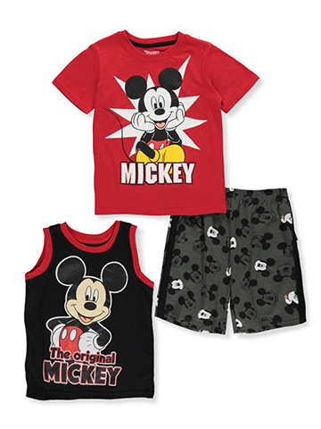 Disney Mickey and the Roadster Racers Boys' 3-Piece Set - CookiesKids.com