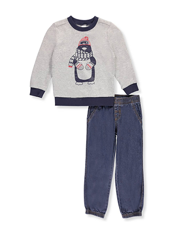 Carter's Little Boys' Toddler 2-Piece Pants Set Outfit (Sizes 2T - 4T) - CookiesKids.com