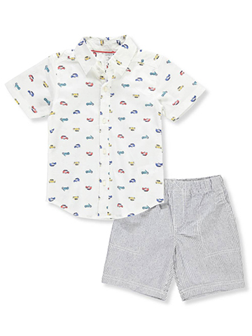 Carter's Boys' 2-Piece Short Set Outfit - CookiesKids.com