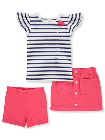 Carter's Girls' 3-Piece Outfit - CookiesKids.com