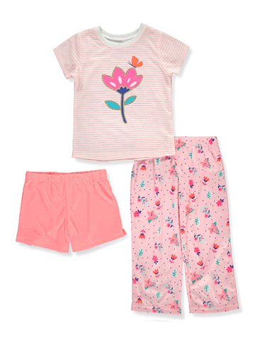 Carter's Girls' 3-Piece Pajama Set - CookiesKids.com