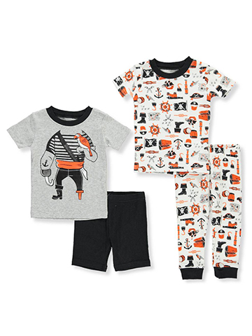 Carter's Baby Boys' 4-Piece Pajama Set - CookiesKids.com