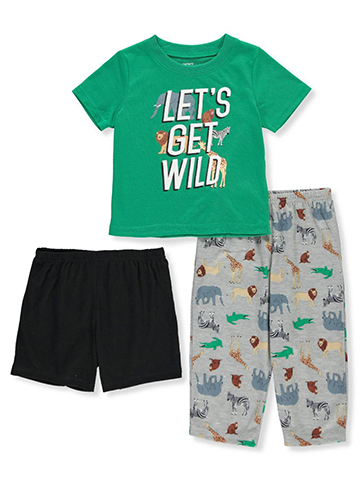 Carter's Baby Boys' 3-Piece Pajama Set - CookiesKids.com