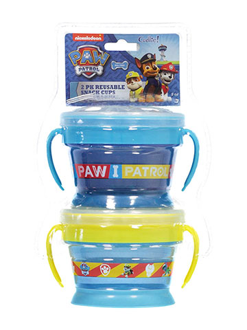 "Paw Patrol ""Snack Team"" 2-Pack Reusable Snack Cups 5 oz. - CookiesKids.com"