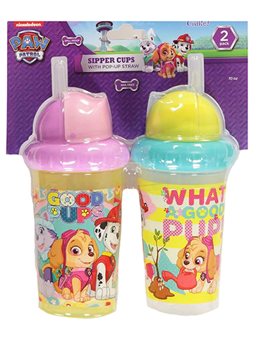 Paw Patrol 2-Pack Sipper Cups (10 oz.) - CookiesKids.com