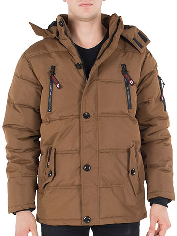 Canada Weather Gear Mens' Big and Tall Insulated Parka - CookiesKids.com
