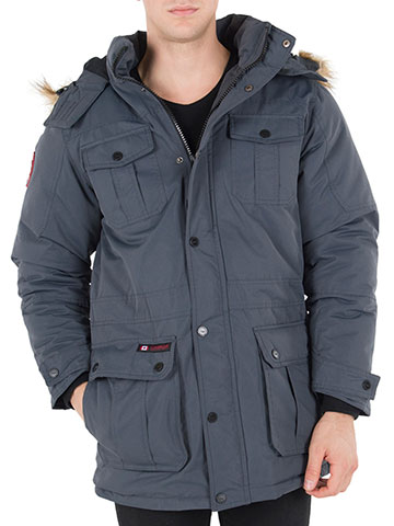 Canada Weather Gear Men's Big and Tall Insulated Parka - CookiesKids.com