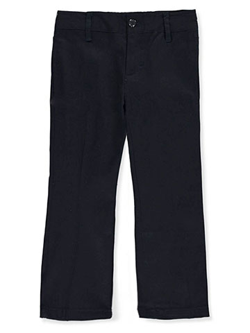 Denice Little Girls' Stretch Uniform Pants (Sizes 4 - 6X) - CookiesKids.com