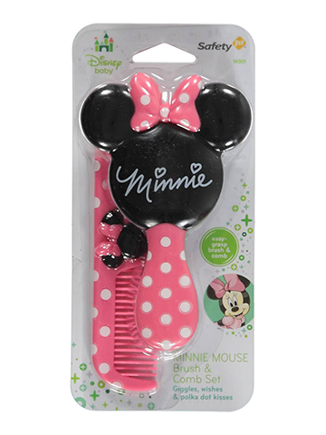 "Disney Minnie Mouse ""Minnie Salon"" Brush & Comb Set - CookiesKids.com"