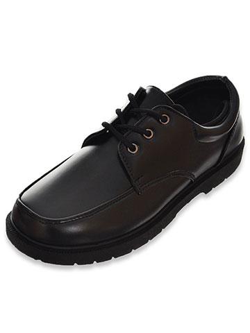 """d1f1a5ddd Eddie Marc Boys' """"Sandler"""" School Shoes (Youth Sizes 13 – 7)"""