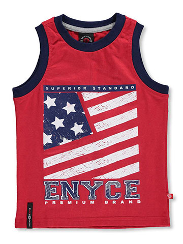 "Enyce Little Boys' ""American Superior"" Tank Top (Sizes 4 – 7) - CookiesKids.com"