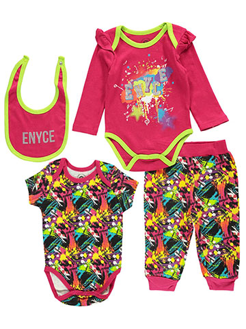 "Enyce Baby Girls' ""Artist in Residence"" 4-Piece Set - CookiesKids.com"