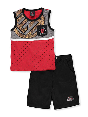Enyce Boys' 2-Piece Short Set Outfit - CookiesKids.com