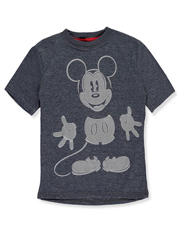 "Mickey Mouse Little Boys' ""Smile & Shine"" T-Shirt (Sizes 4 – 7) - CookiesKids.com"