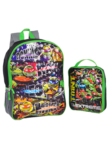 "TMNT ""To the Extreme"" Backpack with Lunchbox - CookiesKids.com"