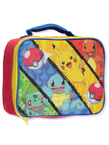"Pokemon ""Monster Capture"" Insulated Lunchbox - CookiesKids.com"