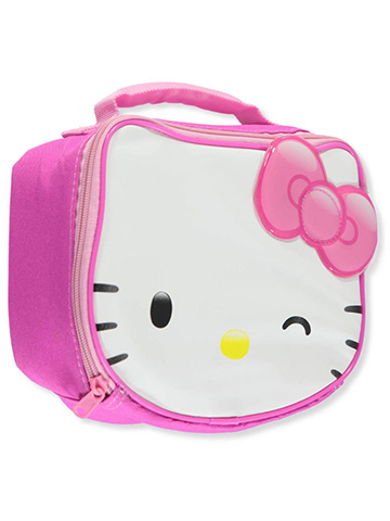"Hello Kitty ""Bow Accent"" Insulated Lunchbox - CookiesKids.com"