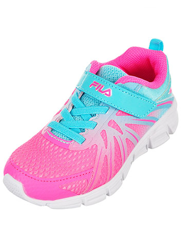 Fila Girls' Fraction Sneakers (Sizes 5 – 10) - CookiesKids.com