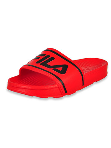 Fila Boys' Slide Sandals (Sizes 13 – 6) - CookiesKids.com