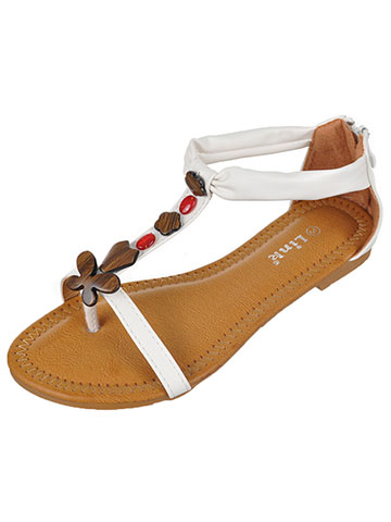 "Link Girls' ""Spring Beach"" Sandals (Toddler Sizes 9 – 12) - CookiesKids.com"