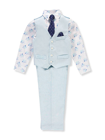 Young Kings Boys' 4-Piece Vest Set - CookiesKids.com