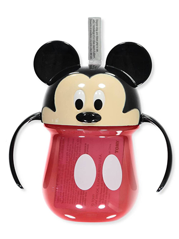 Mickey Mouse Straw Sipper Cup with Handles - CookiesKids.com