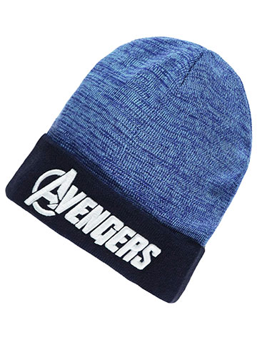 "Avengers ""Logo Cuff"" Beanie (Youth One Size) - CookiesKids.com"