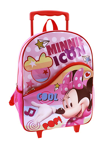 "Minnie Mouse ""Style Icon"" Rolling Backpack - CookiesKids.com"