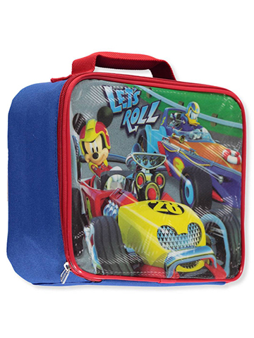 "Mickey and the Roadster Racers ""Spider Cup"" Insulated Lunchbox - CookiesKids.com"