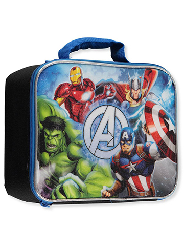 "Avengers ""Group Pose"" Insulated Lunchbox - CookiesKids.com"