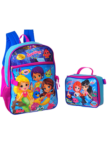 Splashlings Backpack with Insulated Lunchbox - CookiesKids.com