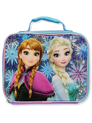 Disney Frozen Lunchbox Featuring Anna & Elsa - CookiesKids.com
