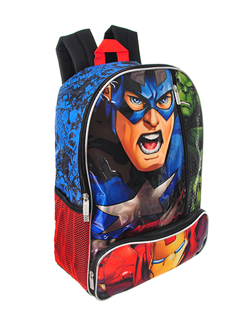 Avengers Backpack - CookiesKids.com