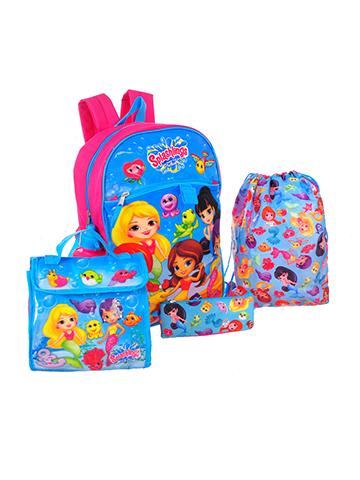 Splashlings 5-Piece Backpack Set - CookiesKids.com